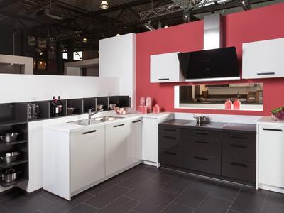 Küche mit Stiel